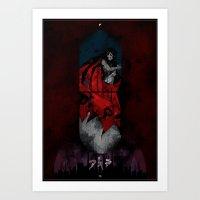 akira Art Prints featuring AKIRA by LostMind