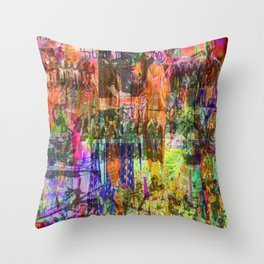 Infusion Confusion Throw Pillow