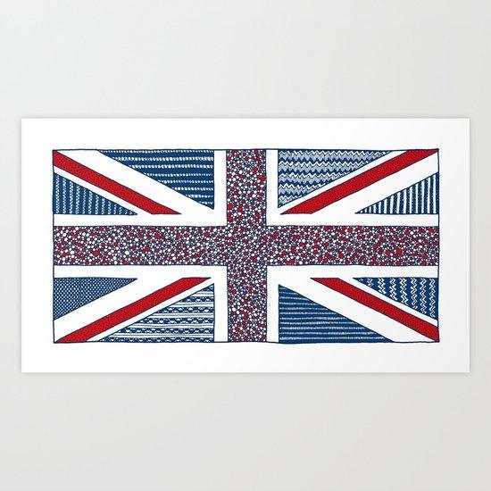 Lovely UK Art Print