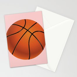Basketball Ball Stationery Cards