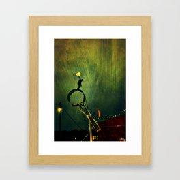 I Bring Fire Framed Art Print