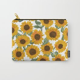 SUNNY DAYS -sunflowers- Carry-All Pouch