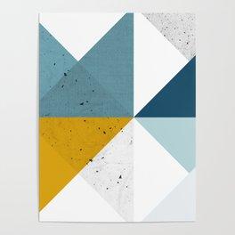 Modern Geometric 17 Poster