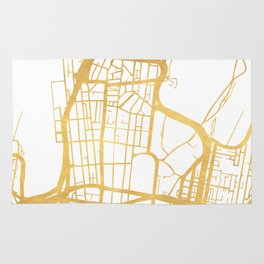 SYDNEY AUSTRALIA CITY STREET MAP ART Rug