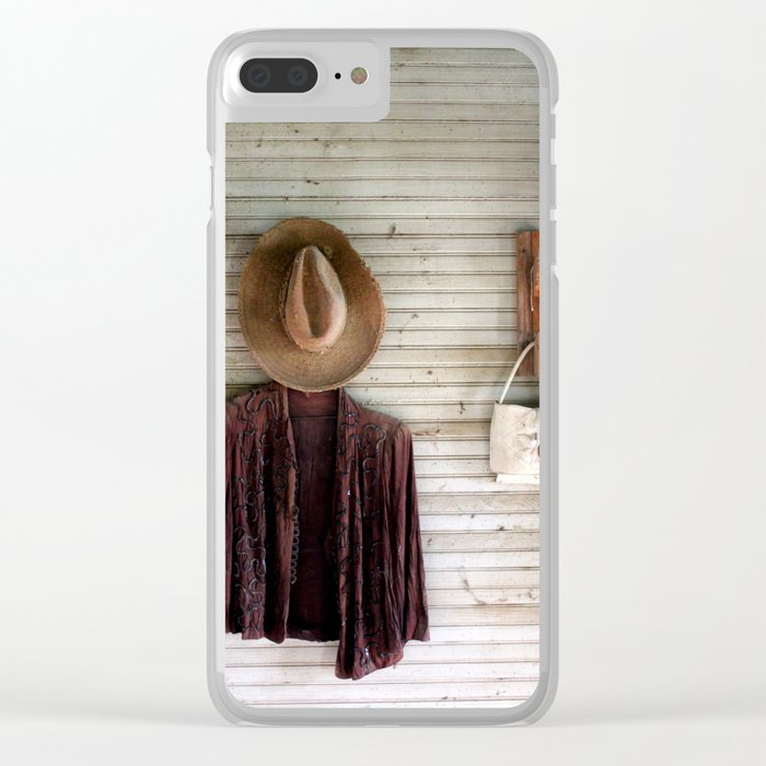 Close Up The Honky Tonks Clear iPhone Case