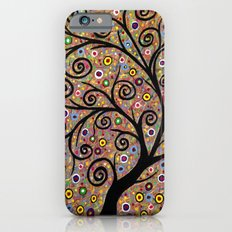 Abstract tree-11 iPhone 6s Slim Case