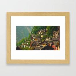 Belvedere Terraces Framed Art Print