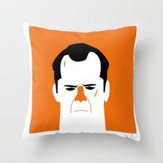 John Mc Lane Throw Pillow