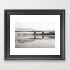 Rivers Bend Framed Art Print