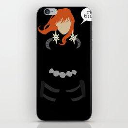 Natasha Romanoff iPhone Skin