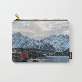 Lofoten winter Carry-All Pouch