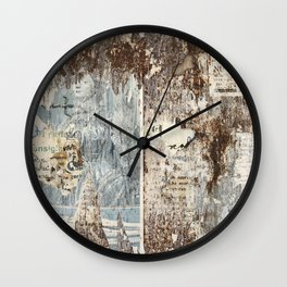 Texture from Italy Wall Clock