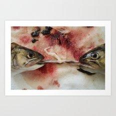 Passion of the Fish 03 Art Print