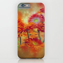 Gerbera Joy iPhone Case