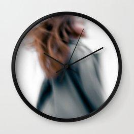 Walking women Wall Clock