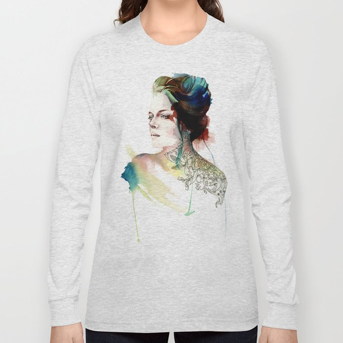 blossoming tattoos Long Sleeve T-shirt