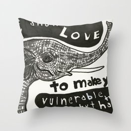 One day Throw Pillow