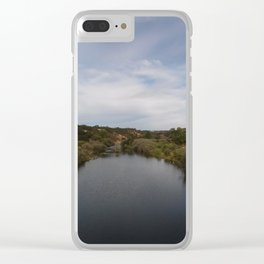 River front Clear iPhone Case