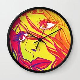 Psychedelic Bella Wall Clock