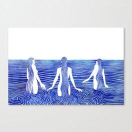 Sirens Call Canvas Print