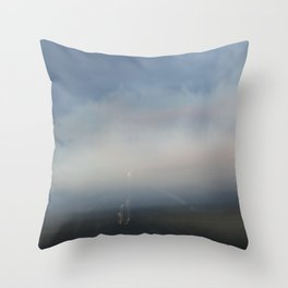Dusk in Utah Throw Pillow