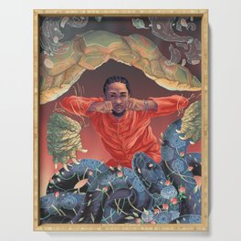 Kung Fu Kenny Serving Tray