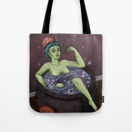 Witch Bath Tote Bag