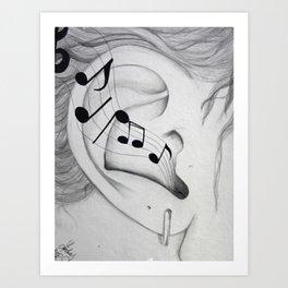 Musical Cognizance Art Print