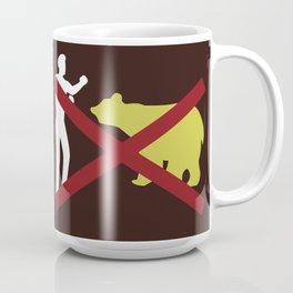 Don't Fistfight the Bears Coffee Mug