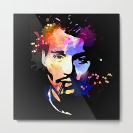 Johnny Depp Metal Print