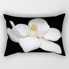 "HOME DECOR,""Wake Up and Smell the Lilies"",Black,White,Pillows,Wall Tapestries,ART prints,Wall Art Rectangular Pillow"