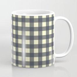 CHARCOAL CHECK Coffee Mug