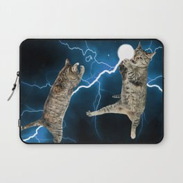 CAT FIGHT  Laptop Sleeve