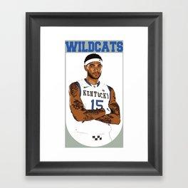Big Willie Framed Art Print
