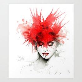 Dirty Madge Art Print