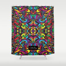 Parti Gras  Shower Curtain
