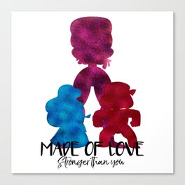 Made of Love Canvas Print