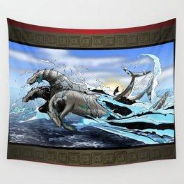 Hippocampi Wall Tapestry