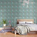 Seamless Winter Pattern with Christmas Ornaments by cozy_designs