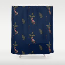 Berry merry Shower Curtain