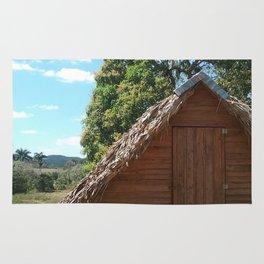 Tobacco Hut - Vinales Cuba Rug