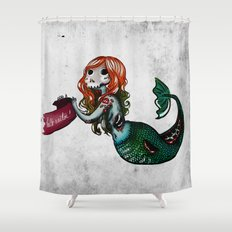 Creature of the sea Shower Curtain