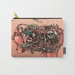 Head Scream Doodle Carry-All Pouch