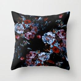 Night Garden XXXVII Throw Pillow