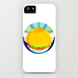 Wheel Series : Summer Solstice Medallion iPhone Case
