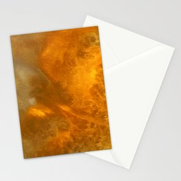 Aurora Borealis: Northern Lights Abstract Design Stationery Cards