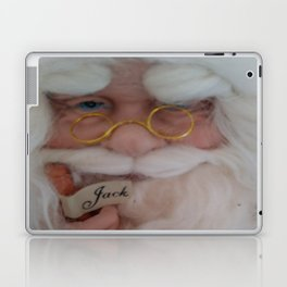 Up close with Santa Laptop & iPad Skin