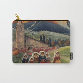 Abruzzo Italian travel back from church Carry-All Pouch