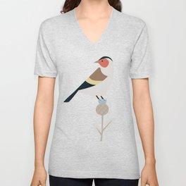Carduelis Bird  Unisex V-Neck