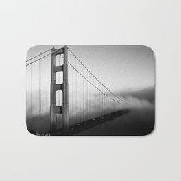 SF Mood ~ Golden Gate Bridge. An enduring American landmark shot from the Marin Headlands. Bath Mat